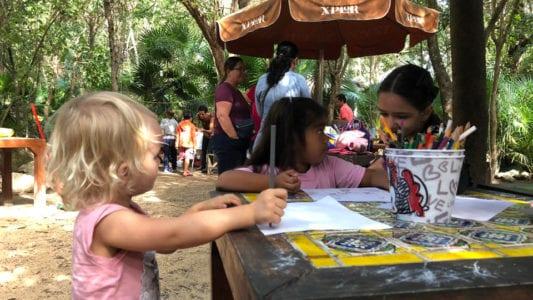 Unschooling Project Parque la Ceiba - Playa del Carmen - Mexico