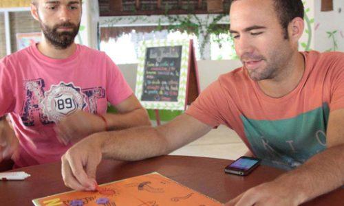 Nando, Chris | Lifestyle Design bij Wonderlijk Werken | Isla Holbox Mexico