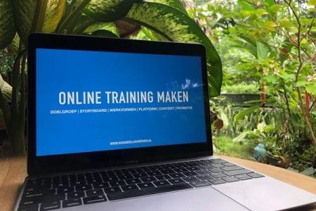 Online Training Maken | Wonderlijk Werken | Business Builder