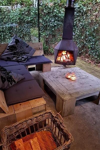 Locatie Lifestyle Design Retreat | Wonderlijk Werken | Lounge buiten