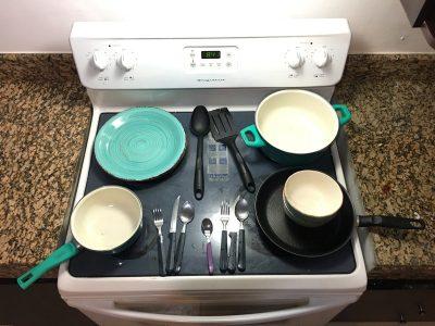 Licht leven   Minimalistische keuken uitrusting