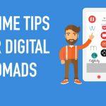 Vijf slimme tips voor Digital Nomads (okee, zes)