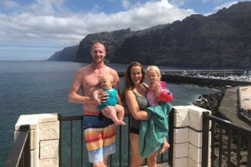 Training geven op Tenerife & Reizen met ons gezin