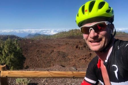 Lekker fietsen op Tenerife op een doordeweekse dinsdag:)