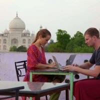 STEVEN & DIANA IN INDIA
